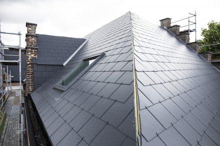 dakwerkend hellend dak